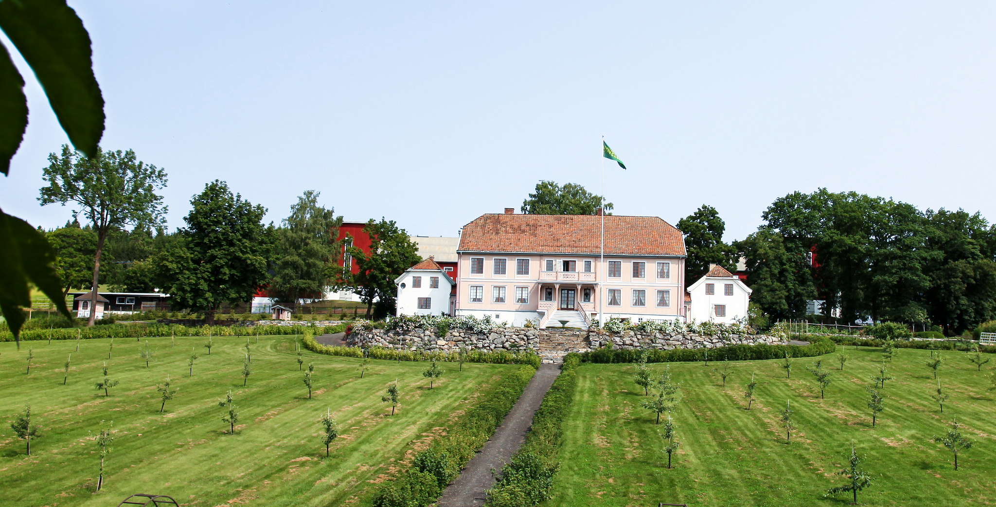 Hovelsrud Villa, Helgøya Island, Nes på Hedmarken, NORWAY. Photo: Haavard Gjelseth, Trond Lillebo, Tor Henning Støldal and Nina Ruud