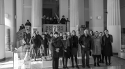 Employees and activists of the National Museum of Bosnia and Herzegovina in Sarajevo, BiH