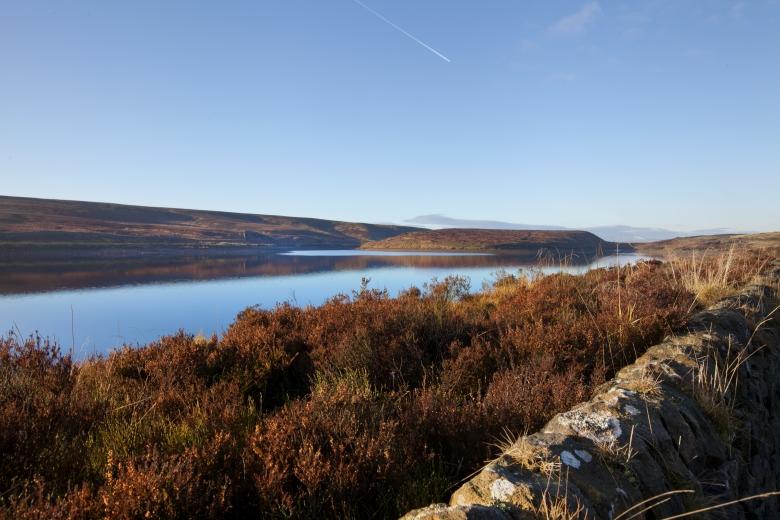 Ponden Reservoir near Haworth. Photo: Southern Pennines Rural Regeneration Company / Mark Davis
