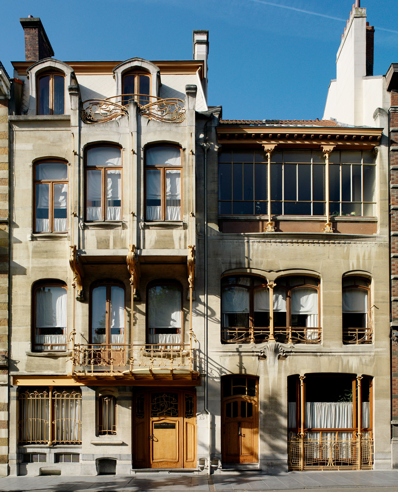 Victor Horta designed his own house and studio in the Saint-Gilles area of Brussels in 1898, and lived and worked there for 20 years. Photo: Horta Museum / Paul Louis