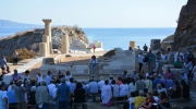 600 people celebrate the rehabilitation of the Ancient city of Karthaia in Greece