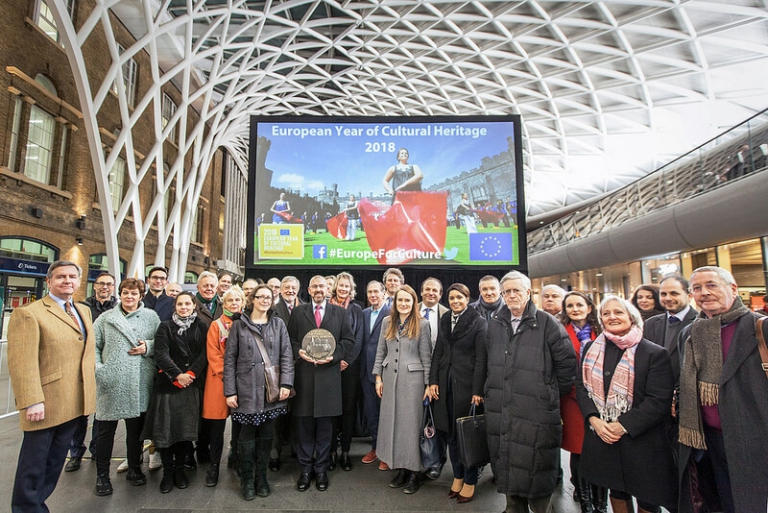 England starts European Year of Cultural Heritage with great event in London