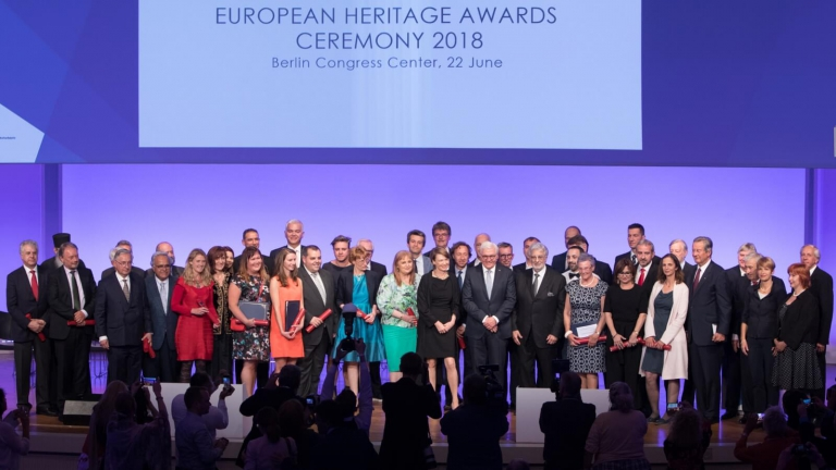 Europe's best heritage achievements 2018 celebrated in Berlin