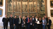 Italy: Ceremony to mark the success of the Open Monuments initiative held