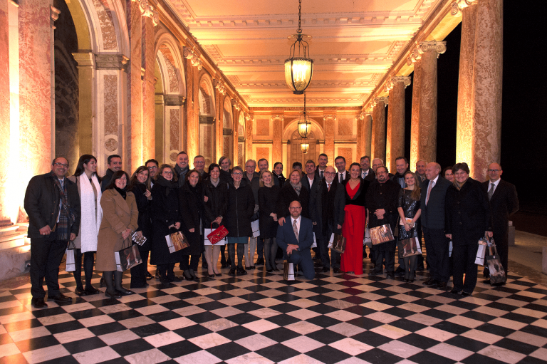 Three Award-winning projects celebrated at special evening in Versailles, France