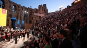 Photo: The European Heritage Awards Ceremony on 16 June 2013 at the Odeon of Herodes Atticus in Athens was attended by some 4.000 people. © Studio Panoulis