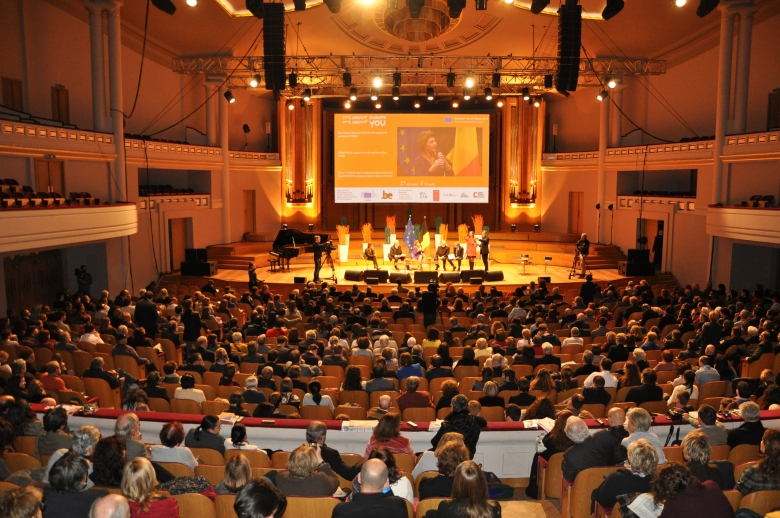 Citizens Dialogue in Brussels.