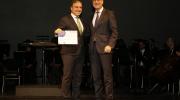 Elías Bendodo Benasayag, Diputación Provincial de Málaga, received a Grand Prix in category Conservation from EU Commissioner Navracsics. Photo: Álvaro Marín