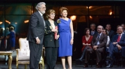 The Klimt Society's President received the Award from Plácido Domingo, President of Europa Nostra, and Androulla Vassiliou, former European Commissioner for Culture, at the European Heritage Awards Ceremony in Vienna on 5 May 2014. Photo Oreste Schaller