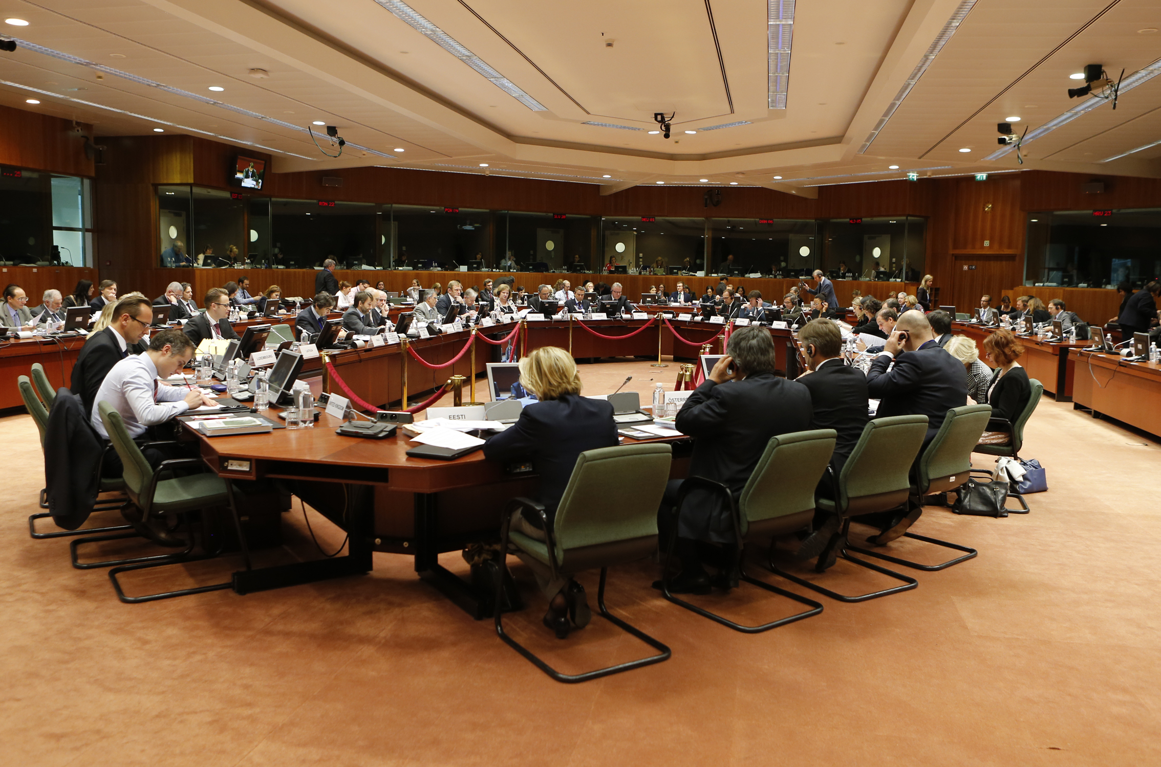 The Council of the European Union, under the leadership of the Italian Presidency, gathered in Brussels on 25 November 2014. Photo: © European Union
