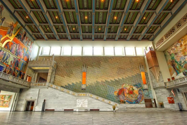 Oslo City Hall, Norway. Photo: Felix Quaedvlieg