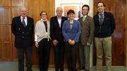 From the left: Richard Deeley, Elena Bianchi, Winfried Brenne, Sneska Quaedvlieg Mihailovic, Dimitri B.Suchin, Adam Wilkinson. Photo: Europa Nostra