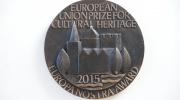 2015 EU Prize for Cultural Heritage/Europa Nostra Awards Plaqu. Credit: Loek Bos