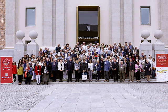 Group photo of the participants attending Europa Nostra's General Assembly 2016
