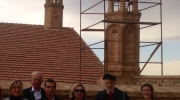 Heritage and financial experts visited the Armenian church of St. George and participated in meetings with the Governor and Mayor of Mardin. Photo: Courtesy of EN Turkey