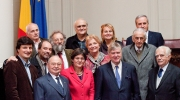 Group photo after the public session organised at the Romanian Academy of Science