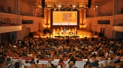 The Citizens' Dialogue was followed by a concert which marked the 50th anniversary of Europa Nostra and celebrated the role of culture in the European project. Photo: Representation of the European Commission in Belgium