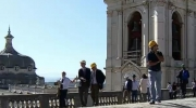 On 28 October, the delegates participated in a technical visit to the carillons and in a guided tour through the Mafra National Palace. Photo: Courtesy of Municipality of Mafra.