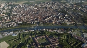 The Citadel of Alessandria is the most important hexagonal fortress in Europe, according to UNESCO. Photo: Folco Quilici / Courtesy of Fondazione Cassa di Risparmio di Alessandria.