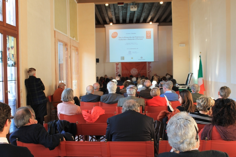 A moment of the public debate at UNESCO's Regional Office for Science and Culture in Venice