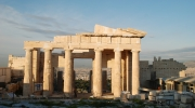Photo: The Propylaea Central Building in Athens