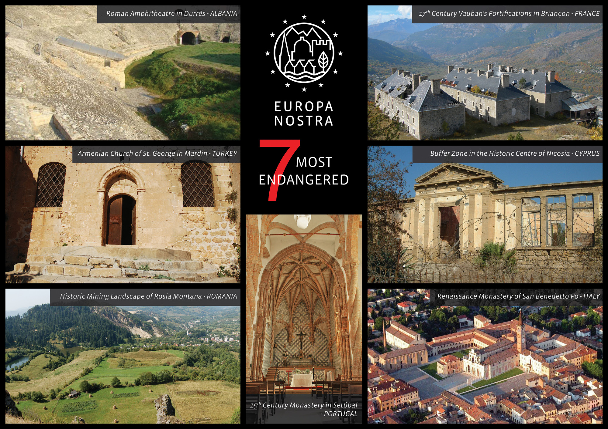 2013 Europe S 7 Most Endangered Monuments And Sites Announced