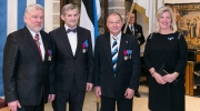 The Estonian Heritage Society celebrated its 30th Jubilee with a special event at the Tallinn Town Hall on 11 December 2017