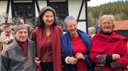 Memorable Local Award Ceremony in Norway for Grand Prix winner Tone Sinding Steinsvik