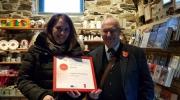 Local Award Ceremony for Yr Ysgwrn, Wales, UK
