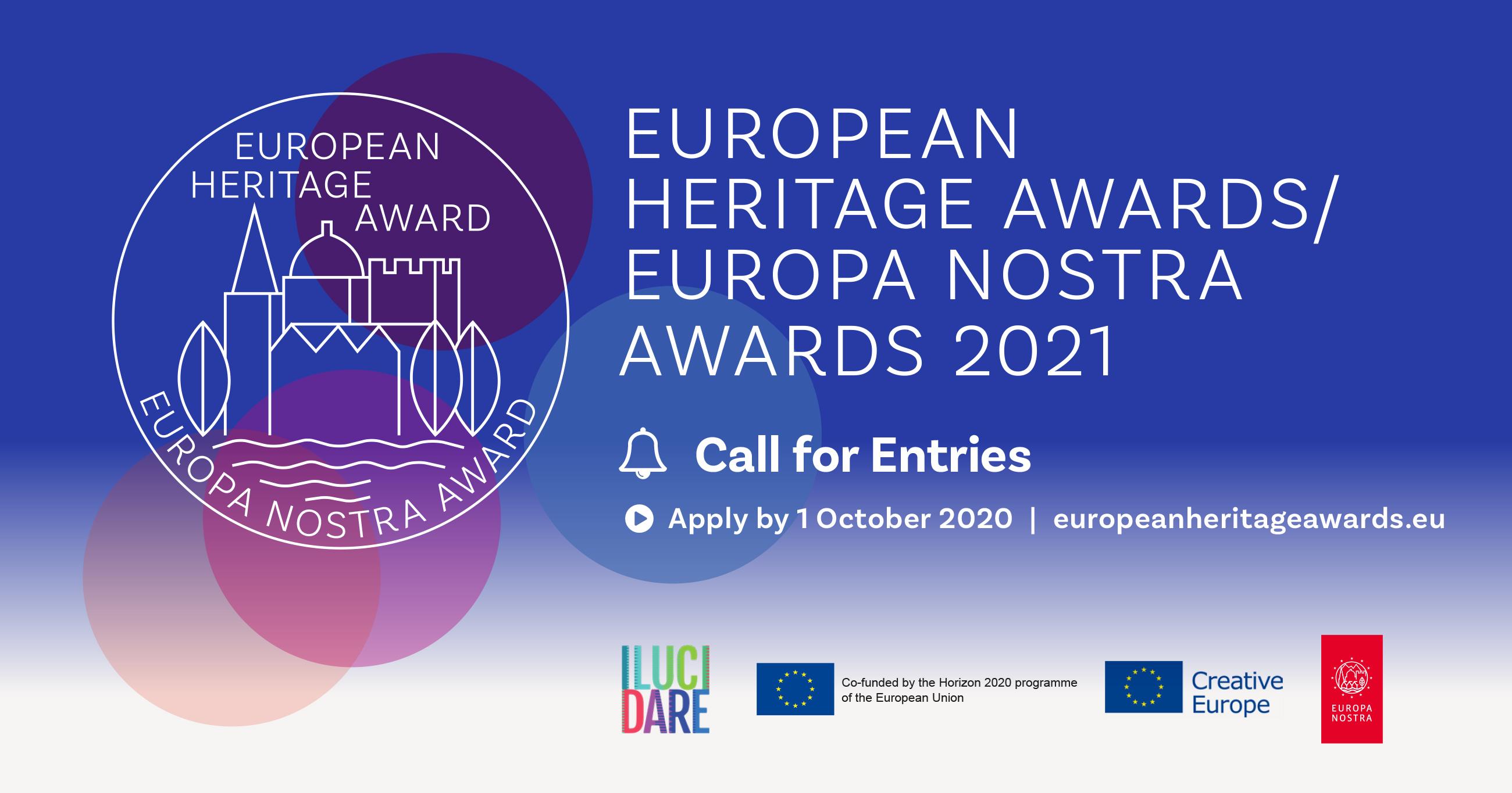 European Heritage / Europa Nostra konkursas