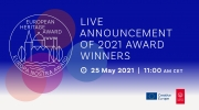 Live Announcement of the Winners of the European Heritage Awards / Europa Nostra Awards 2021