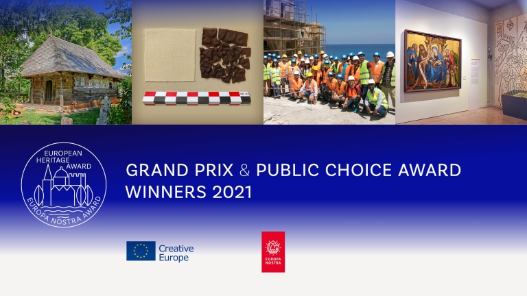 European Commission and Europa Nostra announce Europe's top heritage award winners 2021